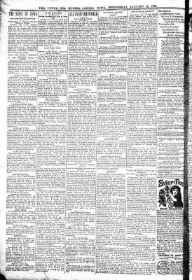 The Algona Upper Des Moines from Algona, Iowa on January 12, 1898 · Page 2