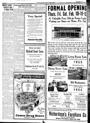 Kossuth County Advance from Algona, Iowa on February 10, 1938 · Page 2
