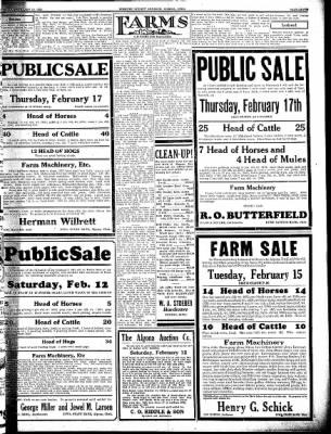 Kossuth County Advance from Algona, Iowa on February 10, 1938 · Page 7