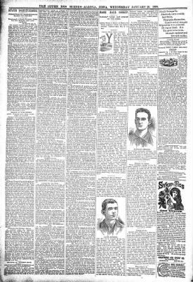 The Algona Upper Des Moines from Algona, Iowa on January 26, 1898 · Page 6