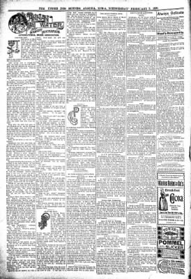 The Algona Upper Des Moines from Algona, Iowa on February 2, 1898 · Page 6