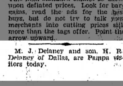 Pampa Daily News (Pampa, Texas), 7 September 1932, 