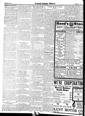 Kossuth County Advance from Algona, Iowa on March 10, 1938 · Page 6