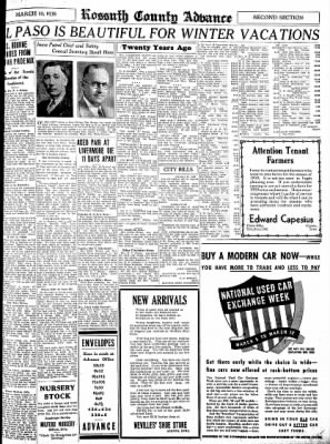 Kossuth County Advance from Algona, Iowa on March 10, 1938 · Page 9