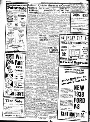Kossuth County Advance from Algona, Iowa on March 17, 1938 · Page 2