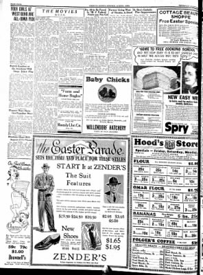 Kossuth County Advance from Algona, Iowa on March 24, 1938 · Page 4
