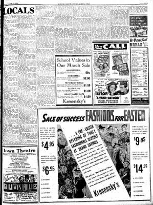 Kossuth County Advance from Algona, Iowa on March 24, 1938 · Page 5