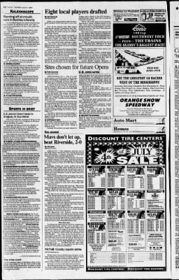 The San Bernardino County Sun from San Bernardino, California on June 17, 1993 · Page 43