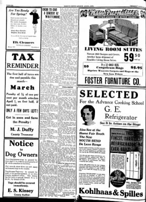 Kossuth County Advance from Algona, Iowa on March 24, 1938 · Page 14