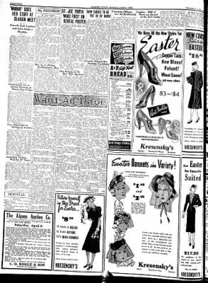 Kossuth County Advance from Algona, Iowa on April 7, 1938 · Page 4