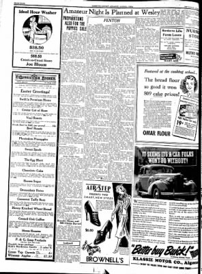 Kossuth County Advance from Algona, Iowa on April 14, 1938 · Page 4
