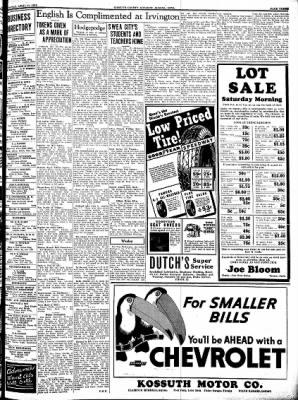Kossuth County Advance from Algona, Iowa on April 21, 1938 · Page 3