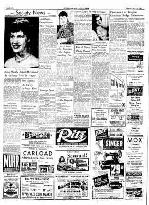 The Courier News from Blytheville, Arkansas on July 27, 1954 · Page 2