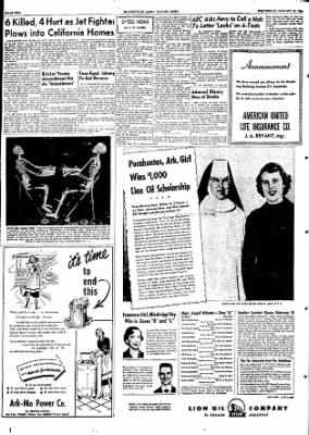 The Courier News from Blytheville, Arkansas on January 13, 1954 · Page 2