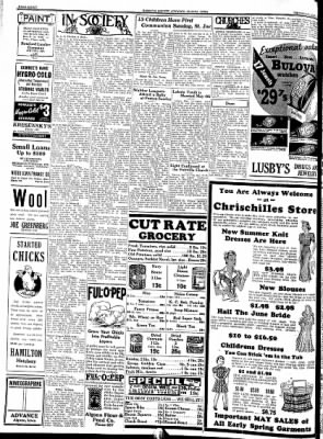 Kossuth County Advance from Algona, Iowa on May 12, 1938 · Page 8
