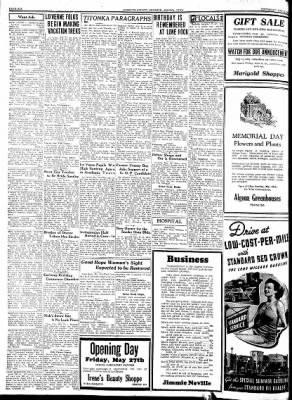 Kossuth County Advance from Algona, Iowa on May 26, 1938 · Page 6