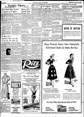 The Courier News from Blytheville, Arkansas on January 13, 1954 · Page 4