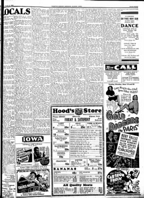 Kossuth County Advance from Algona, Iowa on June 16, 1938 · Page 7