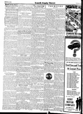 Kossuth County Advance from Algona, Iowa on June 16, 1938 · Page 8