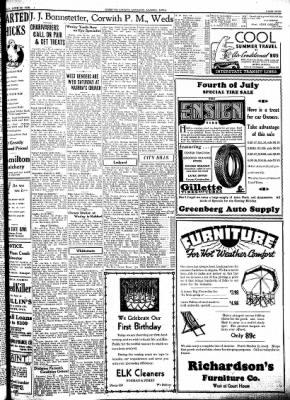 Kossuth County Advance from Algona, Iowa on June 30, 1938 · Page 9