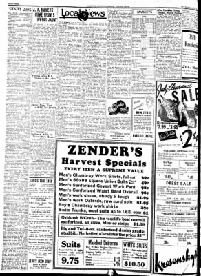Kossuth County Advance from Algona, Iowa on July 14, 1938 · Page 4