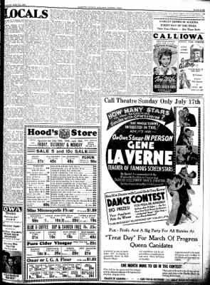Kossuth County Advance from Algona, Iowa on July 14, 1938 · Page 5