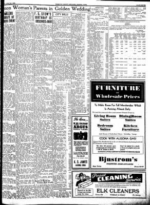 Kossuth County Advance from Algona, Iowa on July 28, 1938 · Page 7