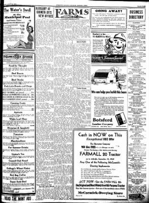 Kossuth County Advance from Algona, Iowa on July 28, 1938 · Page 13