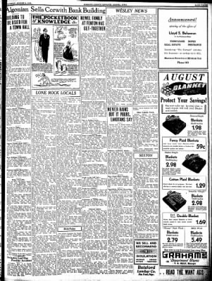Kossuth County Advance from Algona, Iowa on August 4, 1938 · Page 3