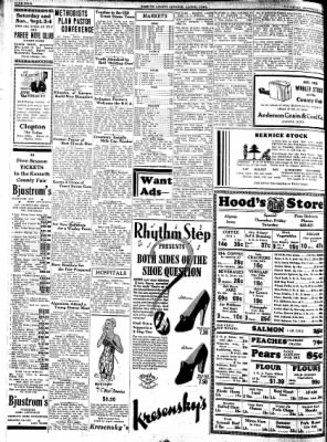 Kossuth County Advance from Algona, Iowa on September 1, 1938 · Page 4