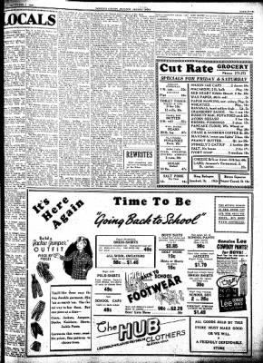 Kossuth County Advance from Algona, Iowa on September 1, 1938 · Page 5