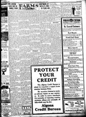 Kossuth County Advance from Algona, Iowa on September 8, 1938 · Page 7