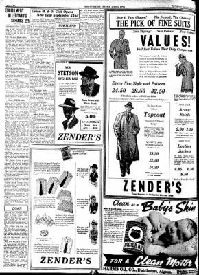 Kossuth County Advance from Algona, Iowa on September 15, 1938 · Page 2