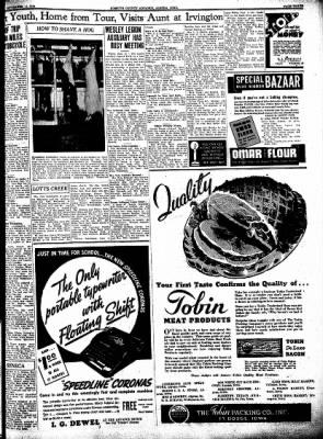 Kossuth County Advance from Algona, Iowa on September 15, 1938 · Page 3