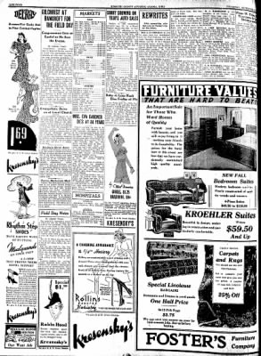 Kossuth County Advance from Algona, Iowa on September 22, 1938 · Page 4