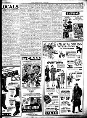 Kossuth County Advance from Algona, Iowa on October 6, 1938 · Page 7