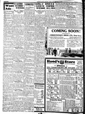 Kossuth County Advance from Algona, Iowa on October 13, 1938 · Page 4