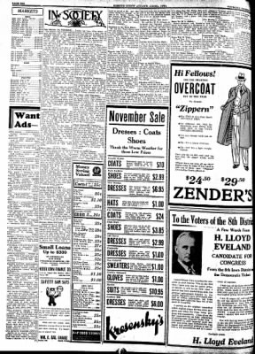 Kossuth County Advance from Algona, Iowa on November 3, 1938 · Page 10