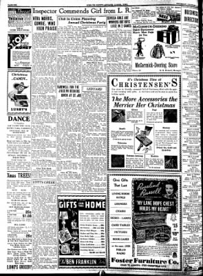 Kossuth County Advance from Algona, Iowa on December 8, 1938 · Page 6