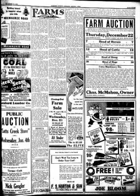 Kossuth County Advance from Algona, Iowa on December 15, 1938 · Page 7