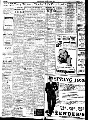 Kossuth County Advance from Algona, Iowa on February 7, 1939 · Page 2