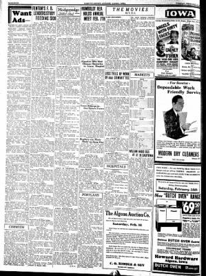 Kossuth County Advance from Algona, Iowa on February 14, 1939 · Page 4