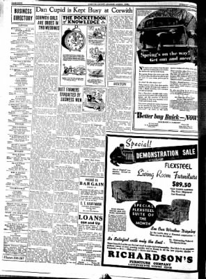 Kossuth County Advance from Algona, Iowa on February 21, 1939 · Page 4
