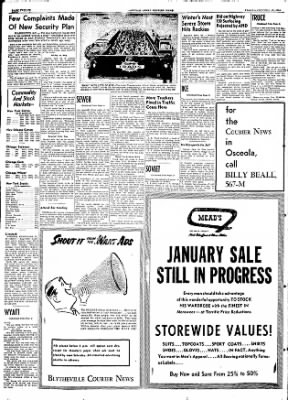 The Courier News from Blytheville, Arkansas on January 15, 1954 · Page 12