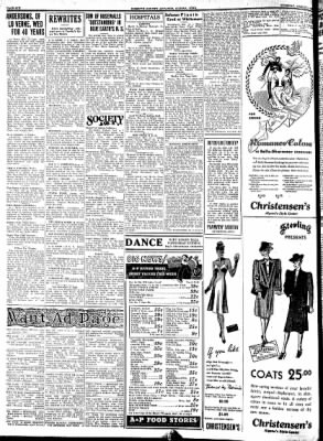 Kossuth County Advance from Algona, Iowa on March 14, 1939 · Page 6