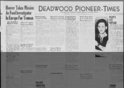 Deadwood Pioneer-Times