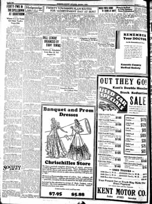 Kossuth County Advance from Algona, Iowa on April 18, 1939 · Page 10