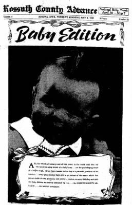 Kossuth County Advance from Algona, Iowa on May 2, 1939 · Page 4