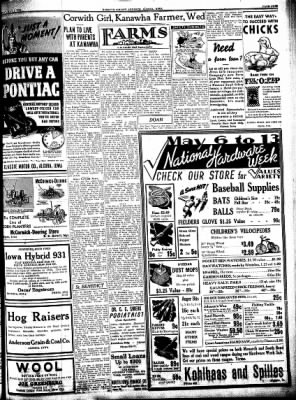 Kossuth County Advance from Algona, Iowa on May 2, 1939 · Page 17
