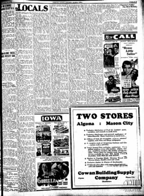 Kossuth County Advance from Algona, Iowa on May 30, 1939 · Page 5